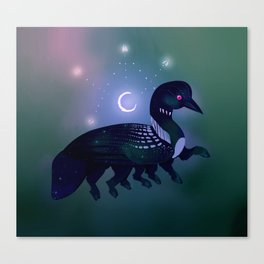 Loon Witch Canvas Print