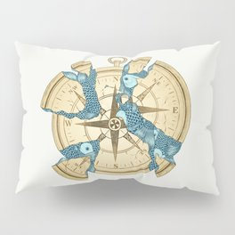 Beneath the Ripples of Existence (There's a Journey Called Life) Pillow Sham