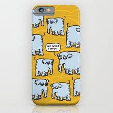 Elephant Cluster iPhone 6 Slim Case