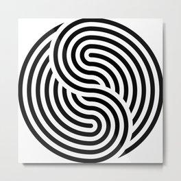concentric 11 Metal Print