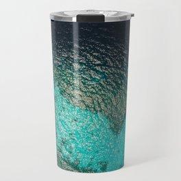 Blue ocean from above Travel Mug