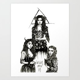 Witches Among Us Art Print