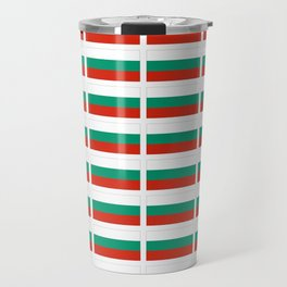 flag of bulgaria -bulgarian, България,български,slav,cyrillic,Sofia,bulgaria Travel Mug