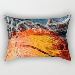 Basketball art swoosh vs 14 Rectangular Pillow