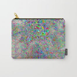 chaotic glitch Carry-All Pouch