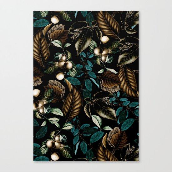 Tropical Night Canvas Print
