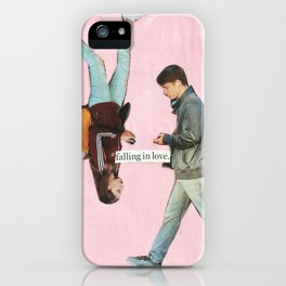 falling in love iPhone Case