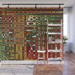 Abstract Art Work Geometic Wall Mural