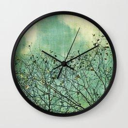 Green Nature vintage Wall Clock