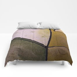 Earth colors Comforters