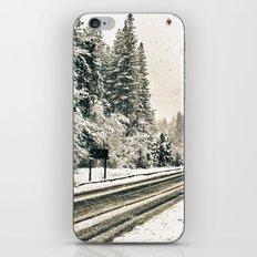 Yosemite Snowy Meadow iPhone & iPod Skin
