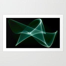 dimension graph Art Print