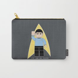 Live Long and Prosper  (Lego Spock - Star Trek) Carry-All Pouch
