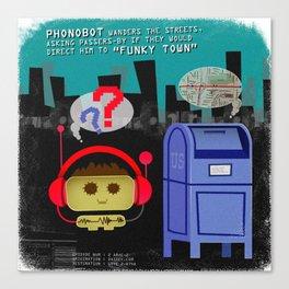 Phonobot - 02 Canvas Print