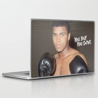 ali gulec Laptop & iPad Skins featuring Ali #1 by YBYG