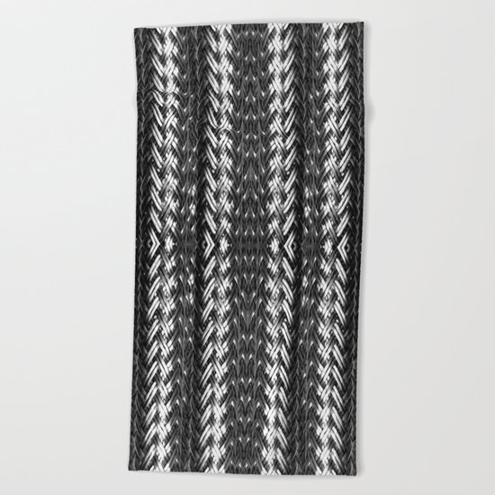 Metal Cord Beach Towel