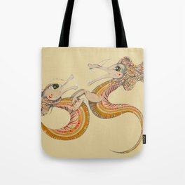 Two dragons Tote Bag