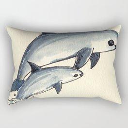 Give Me Porpoise Vaquita Rectangular Pillow