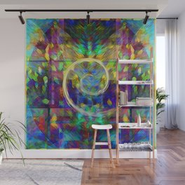 abstract swirl Wall Mural