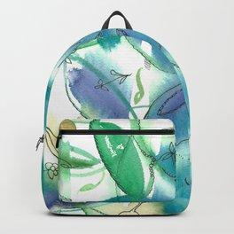 Boho Bamboo Backpack
