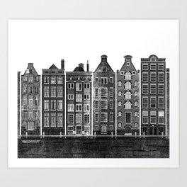 Let's play in Amsterdam Art Print