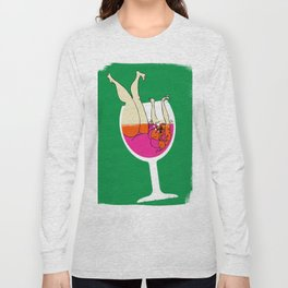 Drink Responsibly - Don't Spill your Drink Long Sleeve T-shirt