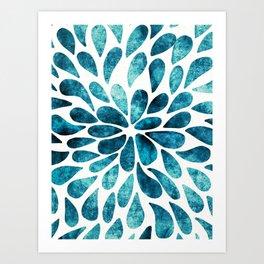 Petal Burst #2 Art Print