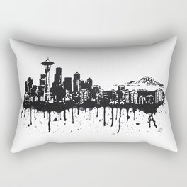 Seattle. Rectangular Pillow