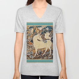 """Unicorn Fantasy"" Unisex V-Neck"