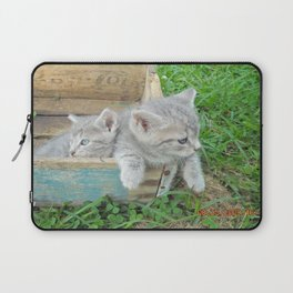 Twins chillin  Laptop Sleeve