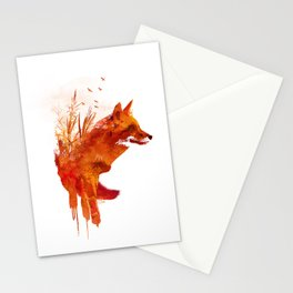 Plattensee Fox Stationery Cards