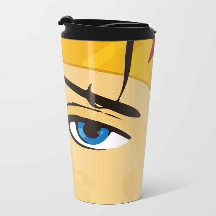Wonder, Hero DC, Woman Metal Travel Mug