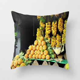 When in the Tropic Throw Pillow