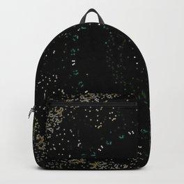 Pixel Dust Black Mandala Backpack