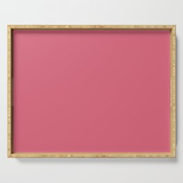 Color Trends 2017 Classic Nantucket Red Serving Tray