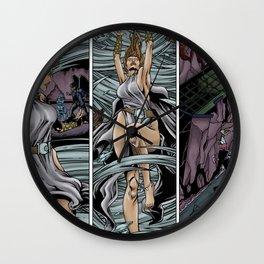 Aura's Rage Wall Clock