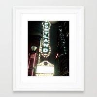 portlandia Framed Art Prints featuring Portlandia by Soft Grit