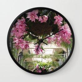 Medinilla Magnifica - botanical photography Wall Clock