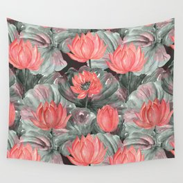Water Lily .2 Wall Tapestry