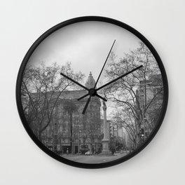 Plaza Cagancha - Montevideo Wall Clock