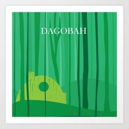Dagobah Art Art Print