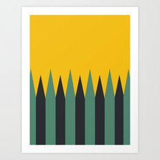 Wild Travels Art Print
