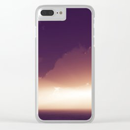 Reversal Dimension Clear iPhone Case