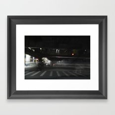 Living El Framed Art Print