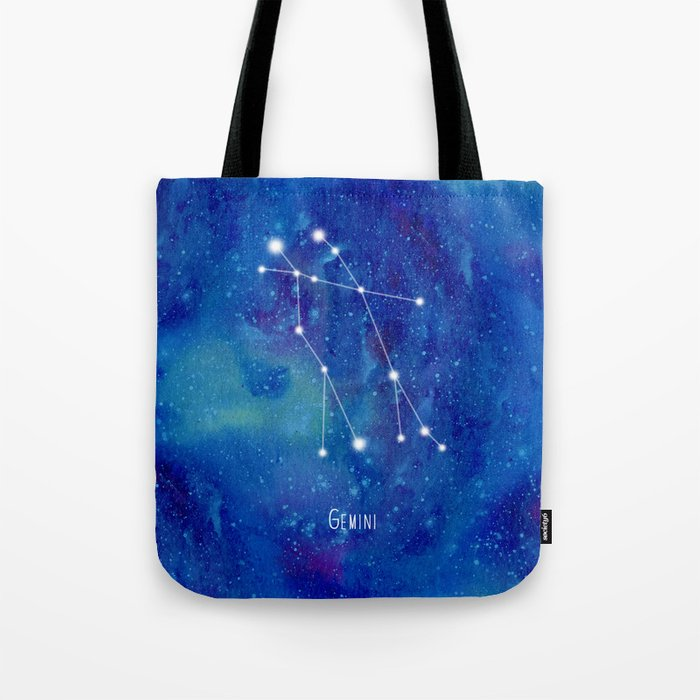 Constellation Gemini Tote Bag