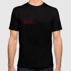 Hannibal...I Forgive You  MEDIUM Mens Fitted Tee Black