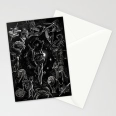 XXI. The World Tarot Card Illustration Stationery Cards