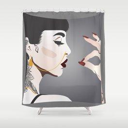 Beautiful Hannah Shower Curtain