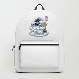 The Great Kanagawa Tea Backpack