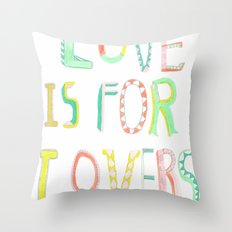 LOVE IS FOR LOVERS 2 Throw Pillow